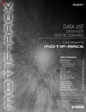 Buy Yamaha MOTIFRACKE2 Operating Guide by download Mauritron #248785