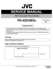 Buy JVC 52090B Service Manual by download Mauritron #250478