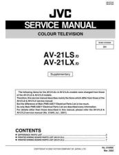 Buy JVC AV-21D73-VTA Service Manual Schematic Circuit. by download Mauritron #269542