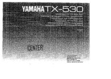 Buy Yamaha TX-480L Operating Guide by download Mauritron #250122
