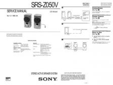 Buy Sony SRS-Z1 Service Manual. by download Mauritron #244605