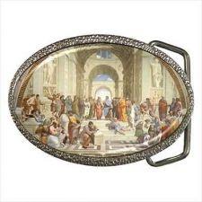 Buy The School Of Athens Vatican Fine Art Unisex Belt Buckle