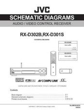 Buy JVC RX-D302B Service Manual by download Mauritron #272312