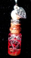Buy Personalized ZODIAC COUPLES VIAL Name On Rice gift Birthday elegant sweet hot