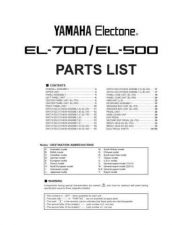 Buy Yamaha EL70-90 PCB1 E Manual by download Mauritron #256572