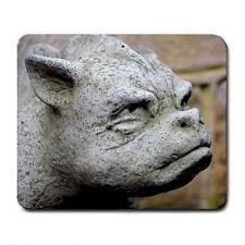 Buy Gargoyle Stone Sculpture Art Computer Mouse Pad