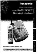 Buy Panasonic KXTC1200 Operating Instruction Book by download Mauritron #236070