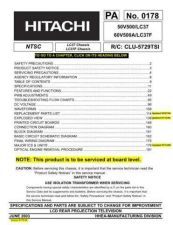 Buy Hitachi 60V500A Service Manual by download Mauritron #207247