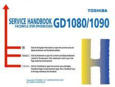 Buy TOSHIBA ESTUDIO 28-35-45 GD1080-90 SERVHANDBK by download #109839