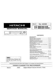 Buy Hitachi VT-P108-118GK Service Manual ---1 by download Mauritron #265643