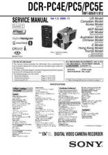 Buy Sony DCRTRV265 Service Manual by download Mauritron #239785