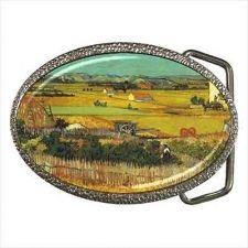 Buy Harvest Vincent Van Gogh Art Belt Buckle