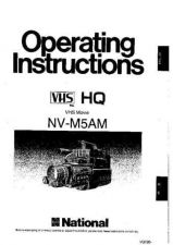 Buy Panasonic NVM5 Operating Instruction Book by download Mauritron #236246