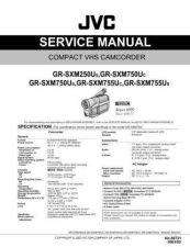 Buy JVC GR-SXM250U GR-SXM750U GR-FXM755U SERVICE MANUAL by download Mauritron #2201