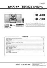 Buy Sharp. XL40-50H_SM_GB Manual by download Mauritron #212091
