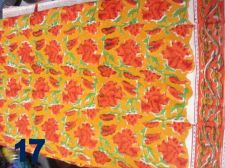 Buy 10yard Indian Hand Made cotton hand block fabric printed fabric sanganeri print