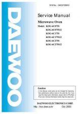 Buy Daewoo. G6C075S002. Manual by download Mauritron #213069