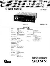 Buy Sony E9SF-19B160 Service Information by download Mauritron #237766