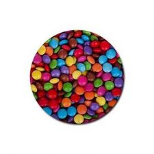 Buy Candy Colorful Candies Set Of 4 Round Rubber Drink Coasters