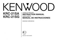 Buy Kenwood KRC-225 Operating Guide by download Mauritron #222524