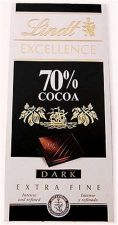 Buy Lindt Excellence Dark Noir Chocolate Bar 70% Cocoa