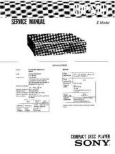 Buy Sony CDP-S107 Service Manual by download Mauritron #231687