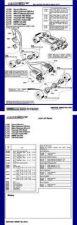Buy Scalextrix No.100C Escort Triumph Porsche BMW Capri and Mini Service Sheets by