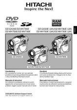 Buy Hitachi DZ-MV730E(UK) IT Manual by download Mauritron #225029
