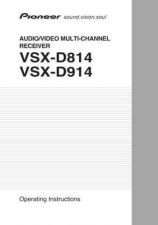 Buy Pioneer 93198953 Operating Instruction VSX-D914-K by download Mauritron #223616