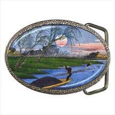 Buy Japanese Art Ando Hiroshige Fine Art Belt Buckle