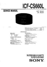 Buy Sony ICF-CS660L Service Manual. by download Mauritron #241606