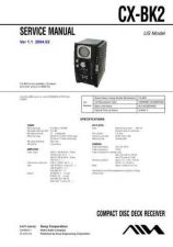 Buy Sony CX-BK2 Service Manual by download Mauritron #231807