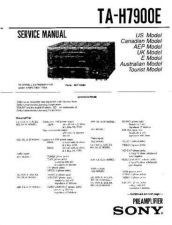 Buy Sony TA-H6800E Service Manual. by download Mauritron #245301