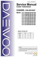 Buy Daewoo TCM500FEF0 Manual by download Mauritron #226820