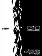 Buy Yamaha G1DF Operating Guide by download Mauritron #247983