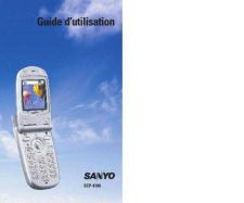 Buy SANYO 8100-1 MOBILE PHONE OPERATING GUIDE Manual by download Mauritron #230435