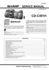 Buy Sharp CDC491H (1) Service Manual by download Mauritron #208519