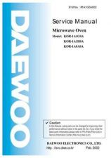 Buy Daewoo R1A1G0A003(r) Manual by download Mauritron #226372