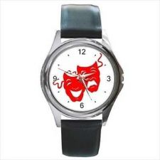 Buy Comedy And Tragedy Red Masks Theater Arts Actor Watch