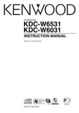 Buy Kenwood KDC-W6527 Operating Guide by download Mauritron #219089