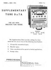 Buy PRECISION MRC TUBE TESTER by download #109072