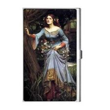 Buy Ophelia In The Woods Waterhouse Art Business Credit Card Case Holder