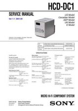 Buy Sony HCD-D990 Service Manual by download Mauritron #240956