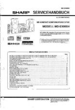 Buy Sharp MDE9000H SM DE(1) Service Manual by download Mauritron #209995