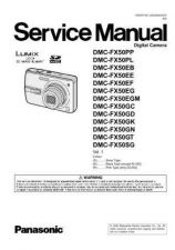 Buy Panasonic DMC-FX9PP Service Manual with Schematics by download Mauritron #266763