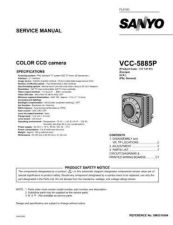 Buy Fisher. Service Manual For VCC-5885P-01 by download Mauritron #217499