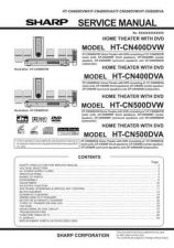 Buy Sharp HTCN-500DVA Technical Information by download Mauritron #232993