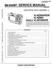 Buy Sharp VLNZ50819 Service Manual by download Mauritron #211240