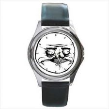 Buy Me Gusta Rage Face Toon Comic Internet Meme Wrist Watch