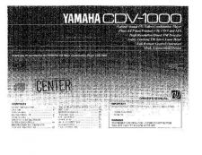 Buy Yamaha CDV-1100 Operating Guide by download Mauritron #247002